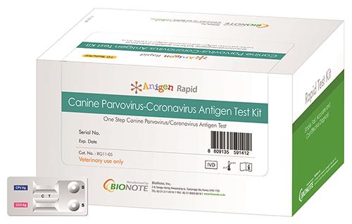 Canine Parvovirus-Coronavirus Antigen Test Kit